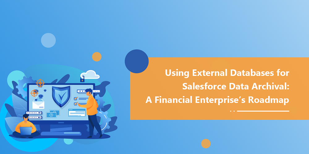 Using External Databases for Salesforce Data Archival: A Financial Enterprise's Roadmap