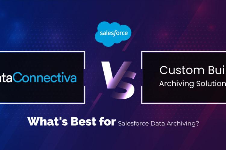 DataConnectiva vs custom build archiving solution