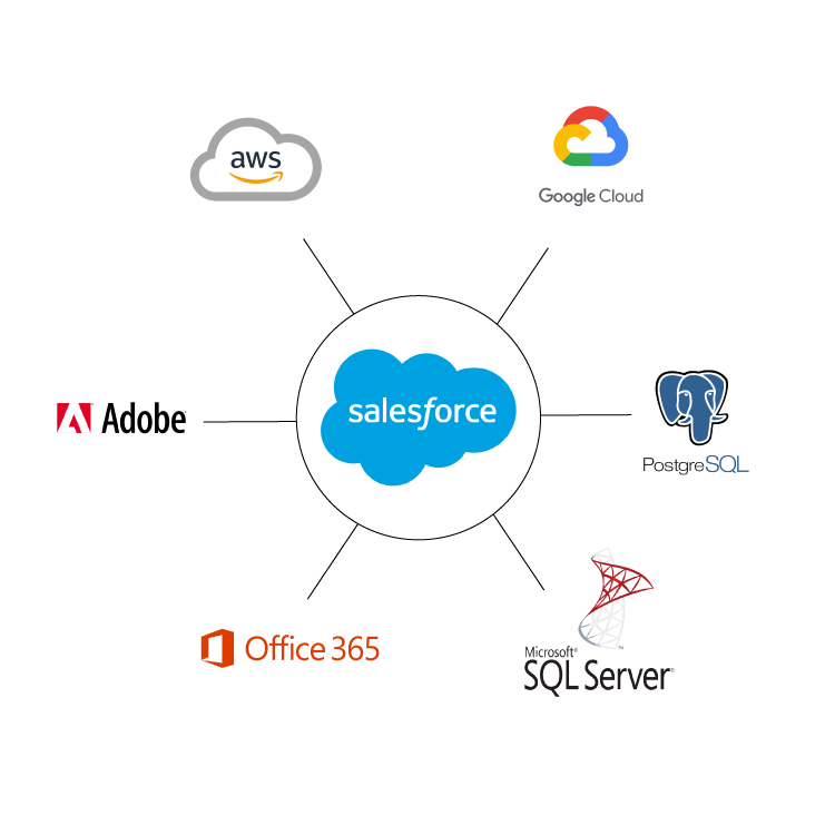 On-premise archiving solution for Salesforce