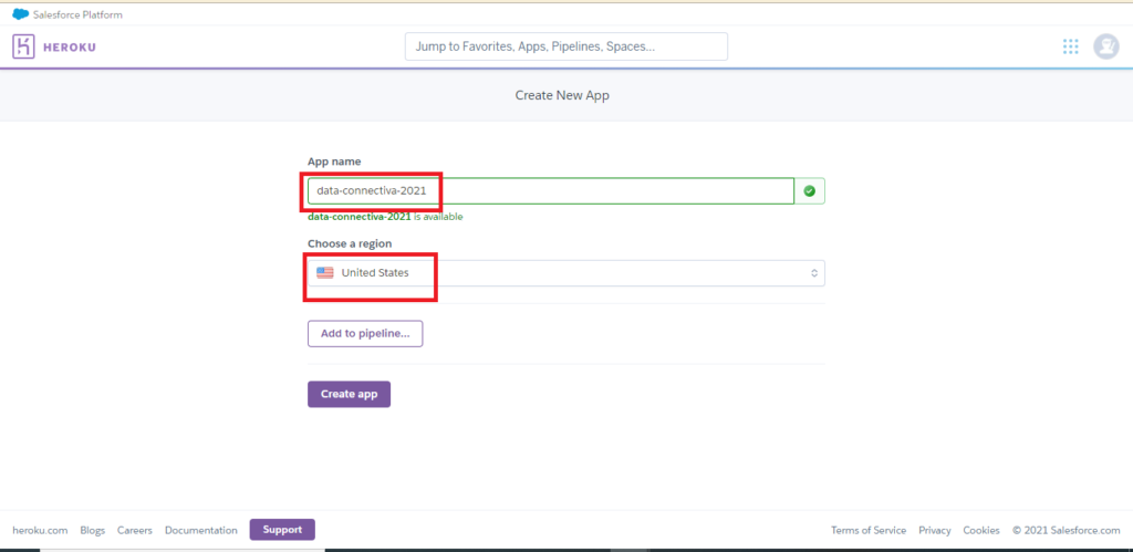 Achieve Salesforce Data Archiving to Heroku Step 2
