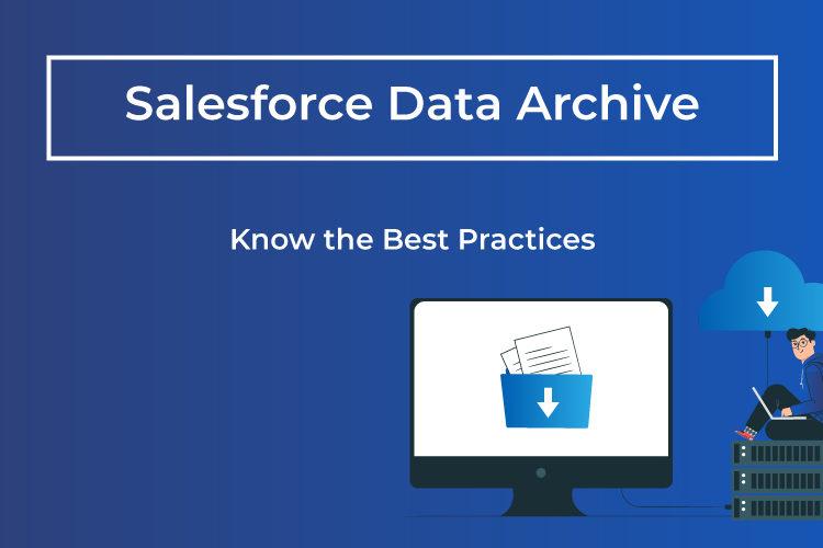 salesforce data archive best practices