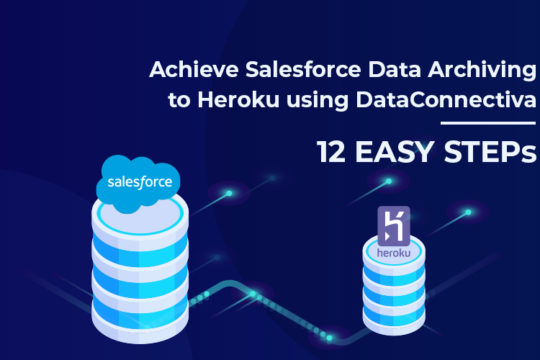 Achieve Salesforce Data Archiving to Heroku using DataConnectiva